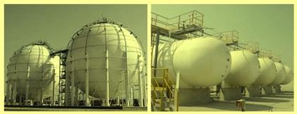 LPG gas storage