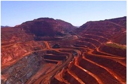 Iron ore mines