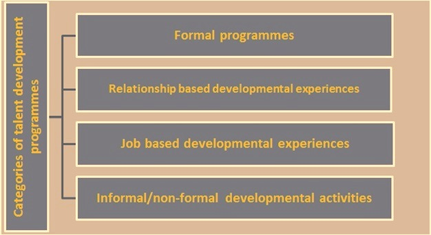categories of talent development programmes